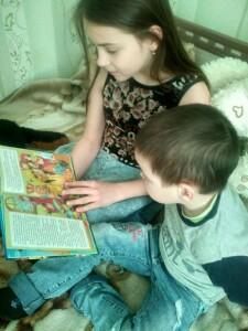 Чтение интересной сказки очень полезное и интересное занятие. Максим. Б